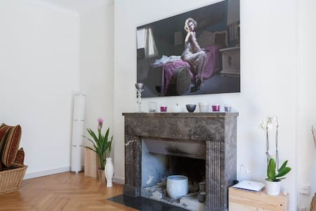 Terrasse / Cheminée Champel - Geneva - Apartment