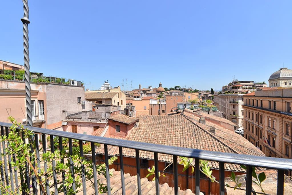 Piazza Mattei terrace apt:Up to 2