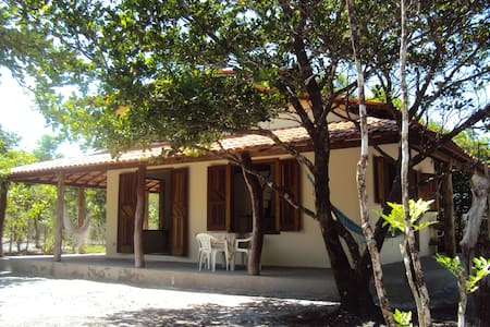 Linda casa p/ 4 pessoas em Boipeba - Casa