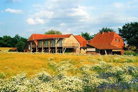 Ferienwohnung mit Ausblick - Wredenhagen - Apartemen