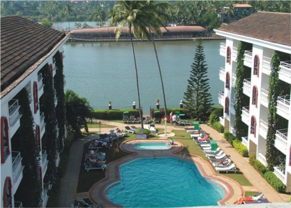 LOVELY VIEW OF SWIMMING POOL