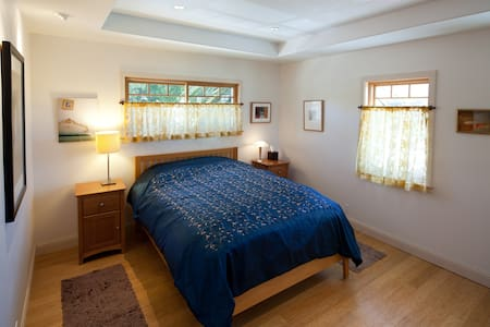 Beautifully renovated 100 year old home in the heart of downtown San Luis Obispo.  Walking distance to downtown, very private rooms, access to a gourmet kitchen and beautiful backyard.  Business license number: 110754