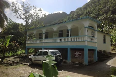 The Jungle Room in Soufriere - Soufriere - House