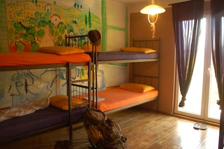 Hostel Anton a bed in shared room - Tivat