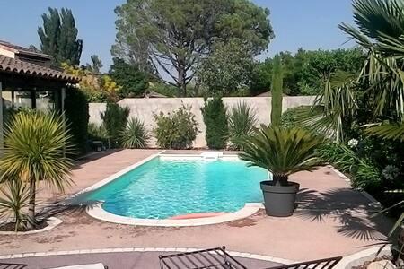 maison en Provence  avec piscine pour 6personnes - Villa