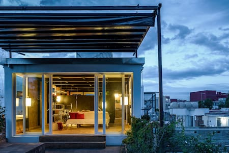 Functional loft with green terrace - Loft