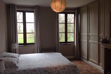 Typical Manor in Normandy - Room 1 - Fourmetot - Bed & Breakfast