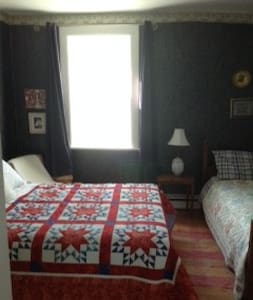 Nautical Room ~ The Quilter's Inn B & B - Lion's Head - Bed & Breakfast