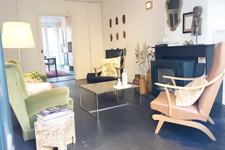 Warm, cosy & quiet apt 15 min from Central Station - Amsterdam - Apartament
