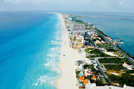 Between SEA & LAGOON: easy access to everything! - Cancún - Apartment