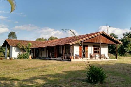 Casa de campo charmosa em Porangaba - House