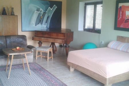 Charming flat with Amazing Garden - Rumah