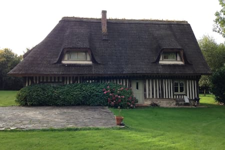 Elégante chaumière au coeur de la Normandie - Le Bois-Hellain