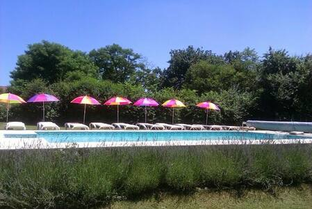 beau gite avec piscine, dordogne - Sainte-Sabine-Born