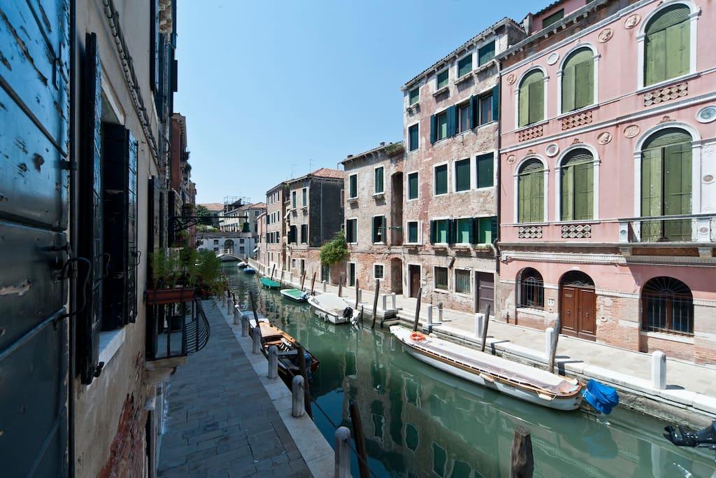 APPARTAMENTO AL PERGOLO  CANAL VIEW