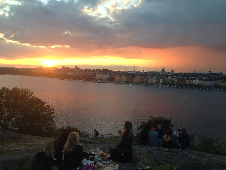 View of the area (Kungsholmen)