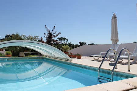 Country house with coverage pool. - Vila Verde - Casa