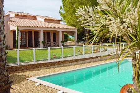 House+pool in fab French village - Dom