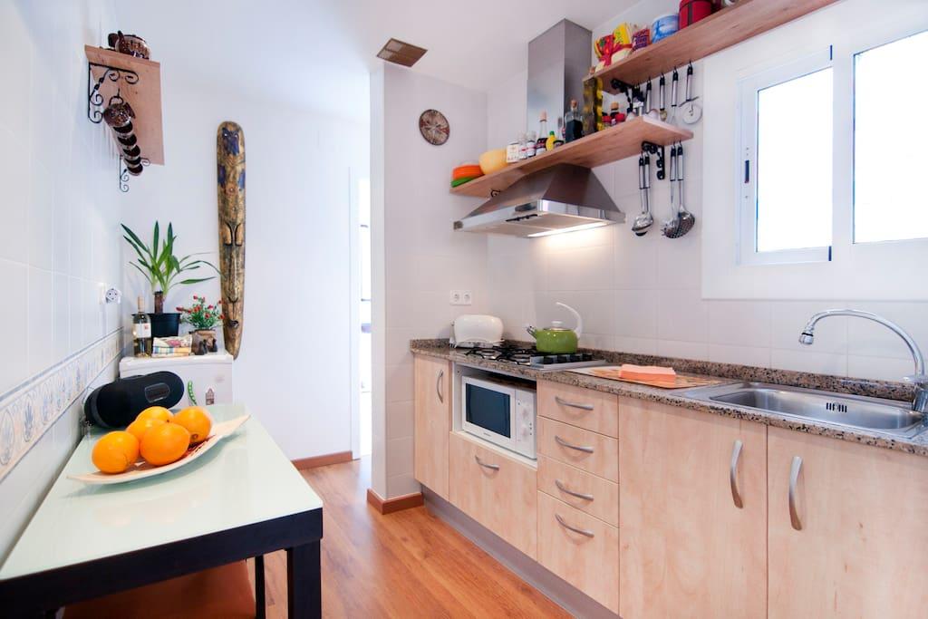 cocina,totalmente equipada