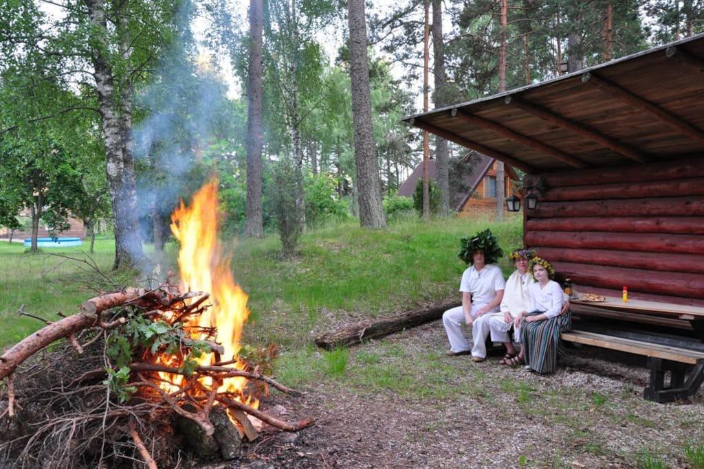 Ligo evening - Latvian summer celebration