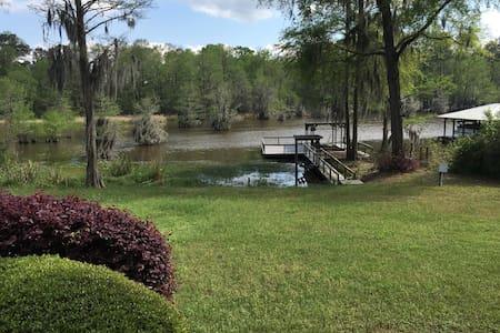 Home on Lake Blackshear with Pool! - Cordele - Haus