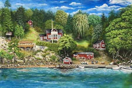 """Seafront cottage - """"Utsikten"""" - Vaxholm - Haus"""