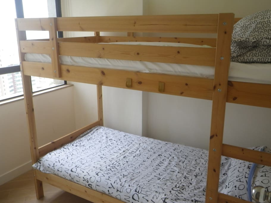 Single room with bunk beds