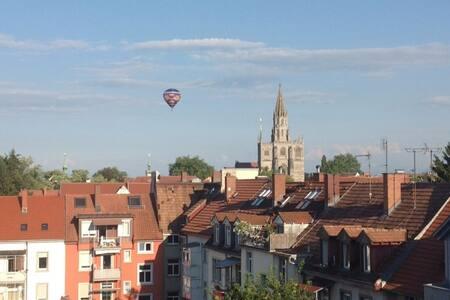 Über den Dächern von Konstanz...