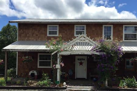 Ctry home near Elkton -  20 mi scenic hwy off I-5 - House