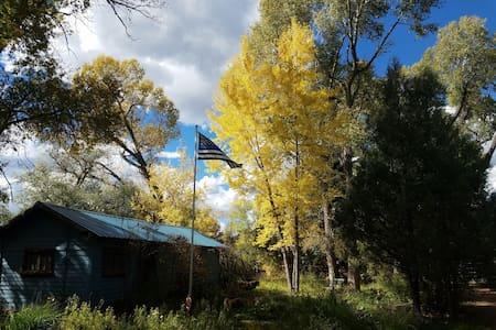 Chameleon, Rustic Cabin - Pecos - 小木屋
