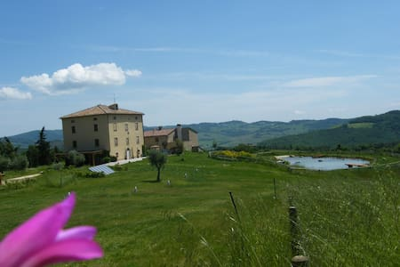 A Loft on top of a Tuscan hill... - Castelnuovo di Val di Cecina - Loft