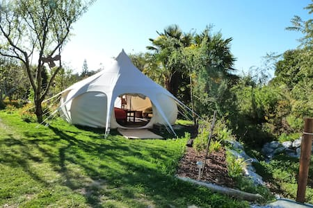 Glamping in a Permaculture Paradise - Yurt