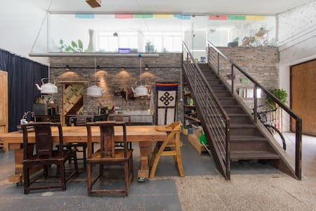 Stay in an Amazingly Cool Loft - Shanghai