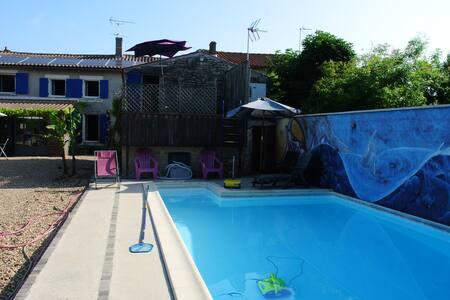 Maison de vacances avec piscine privée. - House
