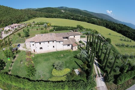 Ancient farmhouse in Umbria - Blue