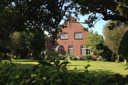 spacious  countryhouse 3 rooms - Bed & Breakfast