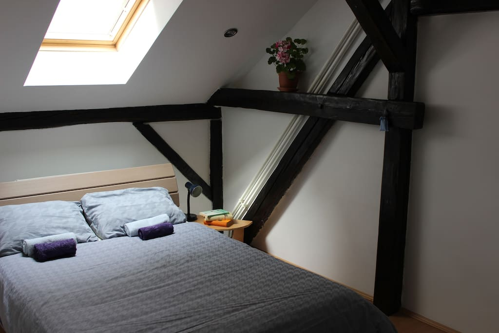 Nice and cosy room for one :)