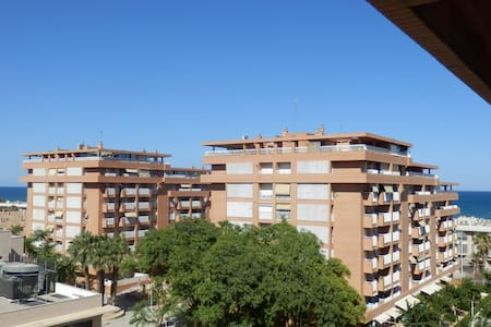 FLAT@VALENCIA'S BEACH+SEAVIEWS+WIFI - Apartment