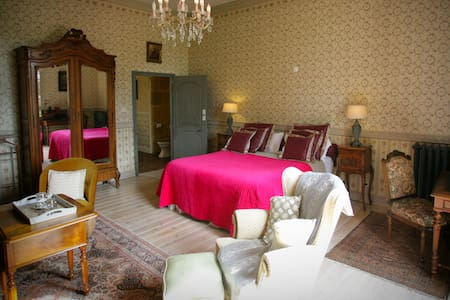 Château d'Origny - Chambre Comtesse - Ouches - Bed & Breakfast