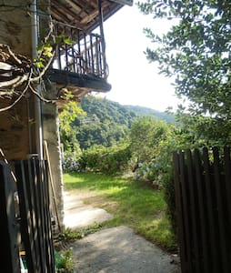 in the woods above the valley - Torre Pellice - House