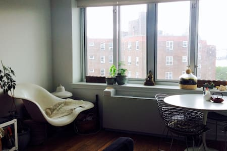 One Bedroom Top Floor Apt with East River View - Appartamento