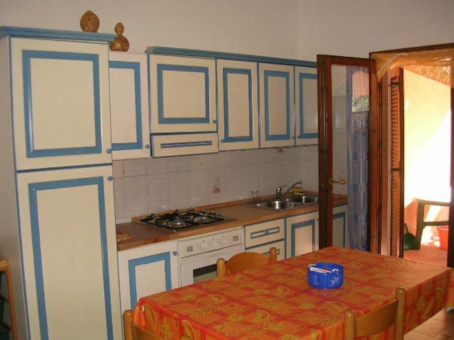 Cucina appartamento1
