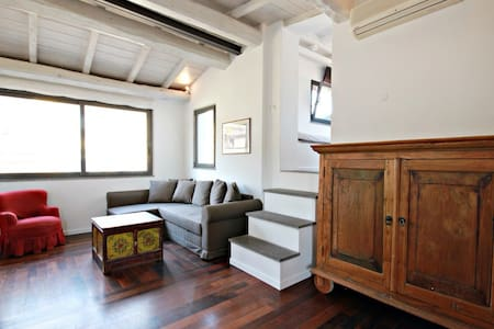 Charming penthouse in Colosseo