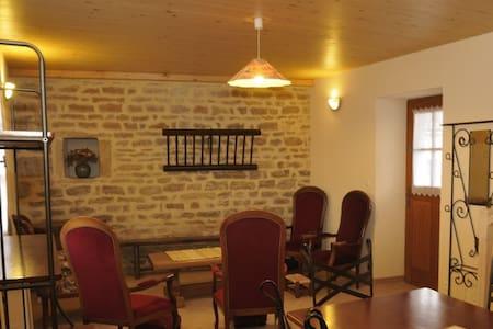 Gîte 3* L'Ecuyer de Bourgogne 100m² - Casa
