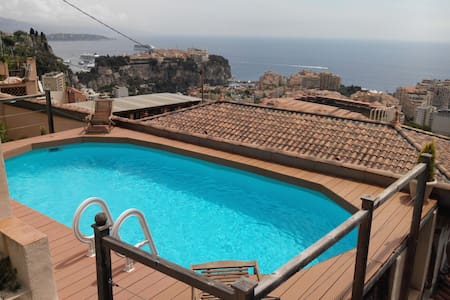 3 room-apartment with swimming pool and 2 terraces - Cap-d'Ail - Loft