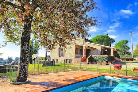 Private Pool Villa Orizzonte - Cignano - Villa