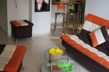Medellín - Apartamento privado en Envigado (4pers) - Envigado - Leilighet