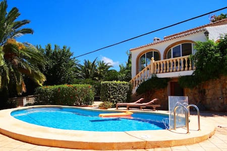 Holiday villa perfect for family holidays in Javea - Casa