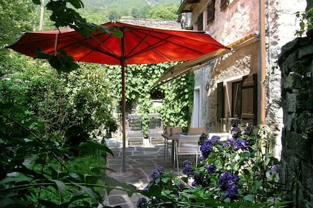Eine Oase im Vallemaggia - Appartement