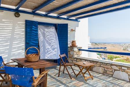 Family House, Paros Golden Beach - Tzanes - Villa